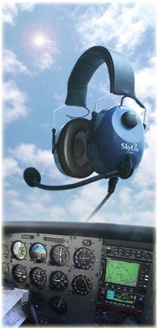 Gift Bag GENUINE SkyLite SL-800 Foldable Compact Design Pilot Aviation Headset